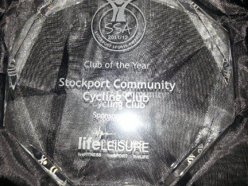 Stockport Sports Club of the Year Trophy